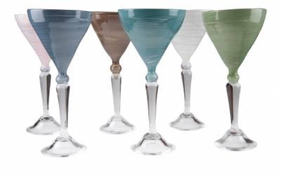 Kunstglass - Sand vinglass