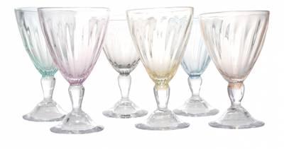 Kunstglass - Perlemor - vinglass